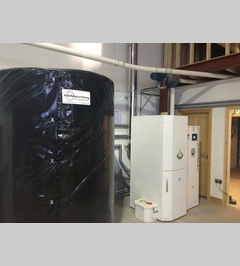 80kw Biomass Heating System